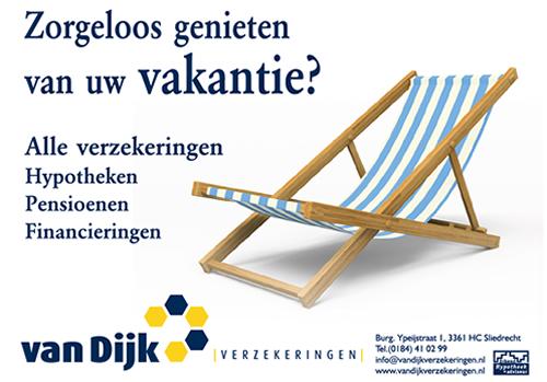 Zorgeloos genieten van uw vakantie?